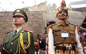 india china military